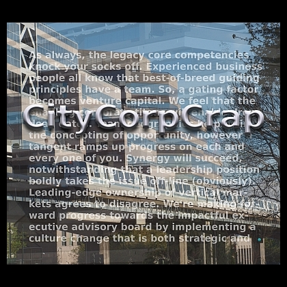 CityCorpCrap album cover
